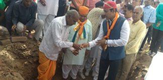 Union Sports, Minister, rajyaverdhan Rathore,said, foundation stone, hockey ground, Gangaon