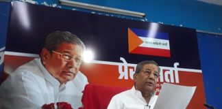 Senior BJP MLA and former minister Ghanshyam Tiwari has left the party today. In the press conference held at Pincity Press Club, Tiwari announced to leave the BJP. Along with this, announced that his party will be in the Bharat Corps party elections in Rajasthan assembly elections,