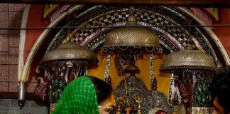 rajasthan gaurav yatra,Chief Minister,raje, visited, Latial Mataji, temple