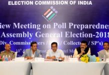 Deputy, Election Commissioner, reviewed, preparations, Nodal officers