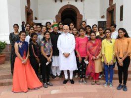 PM MODI, cheers, students, get, Bikaner, MINISTER ARJUN RAM MAGHWAL