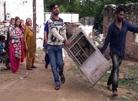 Shastri Nagar Krivastava encroachment free: People started leaving their own house ...