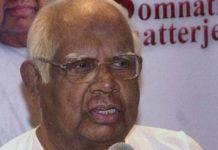 Former Speaker, Somnath Chatterjee, passed away, heart attack