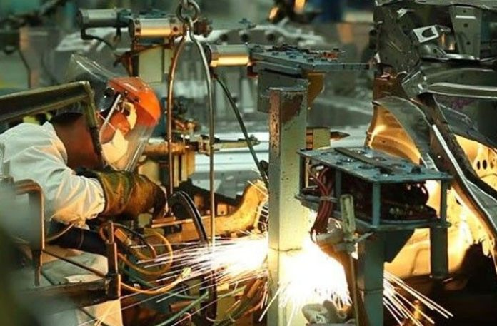 Industrial, growth, 7 percent, June, 2018