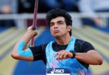 Launch, Asian Games, neeraj chopra, india team