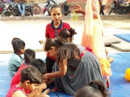 Gymnastics, celebrated, Raksha Bandhan, bikaner