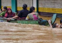Flood, Kerala, kill, three hundred people, pm modi, kerla