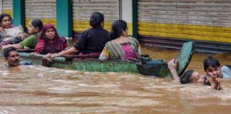 Flood, Kerala, kill, three hundred people, pm modi, kerla