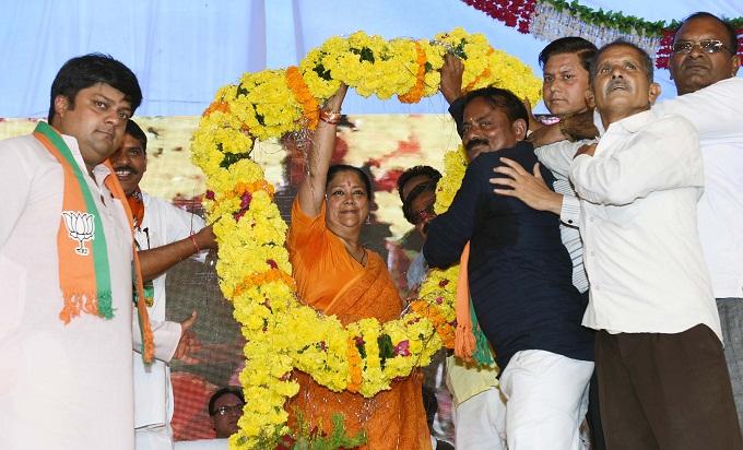rajasthan gaurav yatra kota, Vasundhara Raje