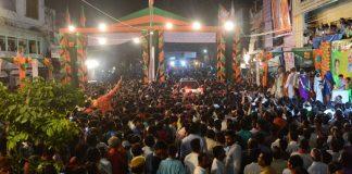 gaurav yatra baran, cm asundhara raje, welcome