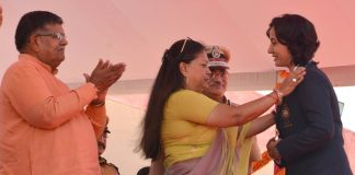 Chief Minister Vasundhara Raje, promoted Constable