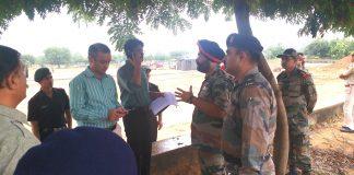 जयपुर में सेना भर्ती रैली 28 सितम्बर से 06 अक्टूबर तक जिला कलक्टर ने लिया तैयारियों का जायजा, अधिकारियो को दिए निर्देश