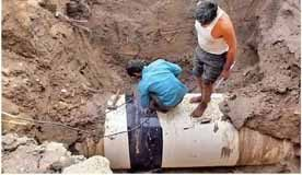 पीएचईडी: 32000 करोड़ की पेयजल योजनाओं में खपाए घटिया क्वालिटी के पाइप