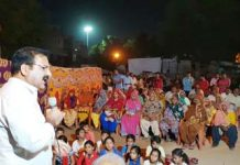 During the five year rule the BJP government betrayed the untouchables and the poor Khatriyavas