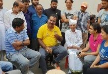 pratap singh Khatriyavas, congress tea party