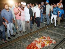 Amritsar train accident, 70 killed