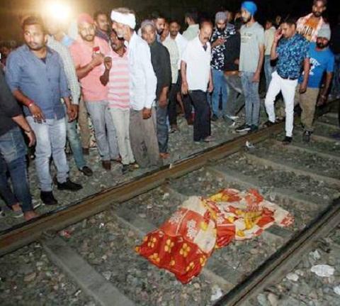 Amritsar train accident, 70 killed