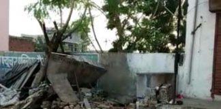 Harraparan accident near Hiramura Shanamandir, woman scandal in accident