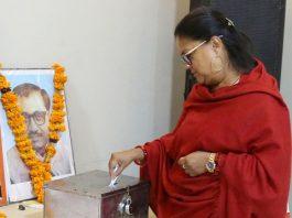 ranakpur meeting, Vasundhara Raje