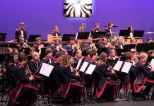 Switzerland Landviere Band, presentation, Albert Hall
