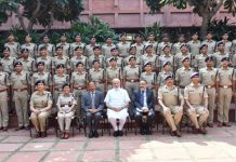 2017 batch IPS probationers meet PM