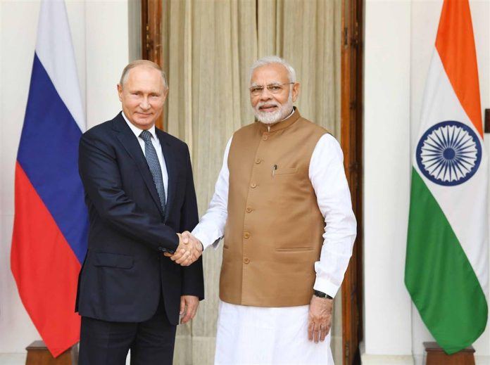 Russia got new direction in partnership with Russia: Modi