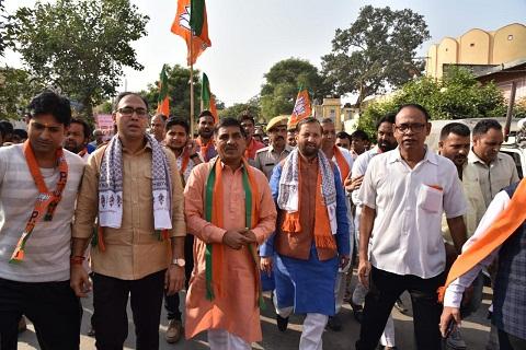 BJP booth Maha-Sampark expedition