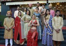 bridal makeup fashion show