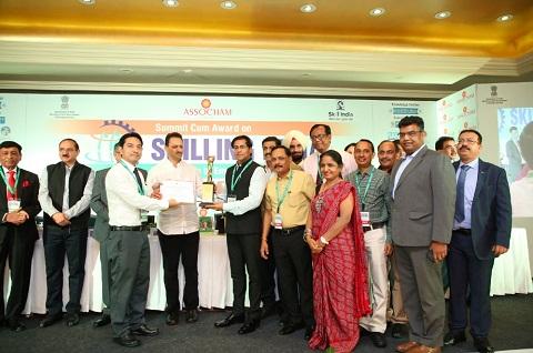 Rajasthan won, Skill Development Award