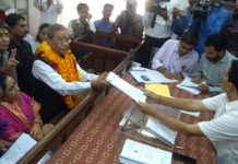 Ghanshyam Tiwari,nomination