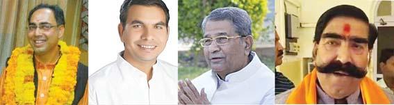 bhaajapa-kaangres par bhaaree, tivaadee-aahooja kee yaaree