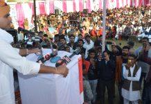 Sachin Pilot, development cycle, rajasthan