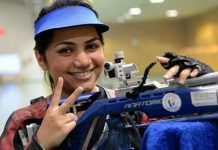 Apurvi Chandela, Indian shooting team