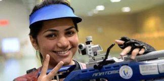 Apurvi Chandela, Indian shooting team