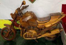 wooden bike Momento, pm modi, 5 lakh rupees