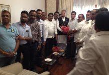 Chief Minister Ashok Gehlot welcom