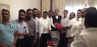 Chief Minister Ashok Gehlot welcom