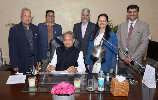 Ashok Gehlot, accounting