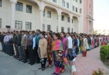 Tribute martyrs, terrorist attack, rajasthan police headquarters