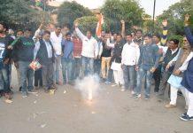 Fireworks Congressmen, army proceedings