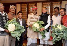 Padmashree Jagadish Pareek, Ashok Gehlot