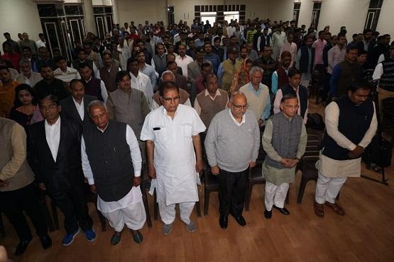 Pulwama tribute BJP office