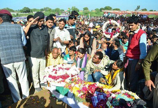 hamraj meena, Terrorist attack in Pulwama