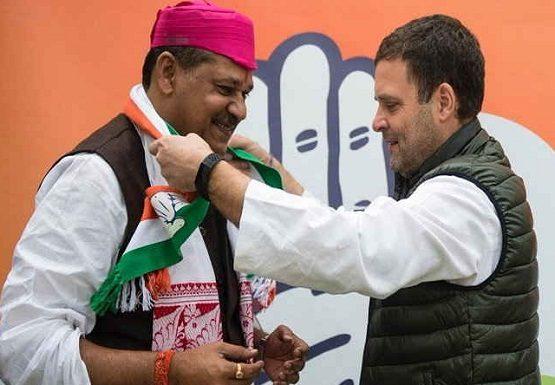 BJP MP Kirti Azad, join Congress, Rahul Gandhi