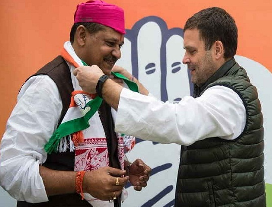 BJP MP Kirti Azad, join Congress, Rahul Gandhi