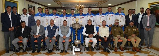gold medal winner, Rajasthan Police