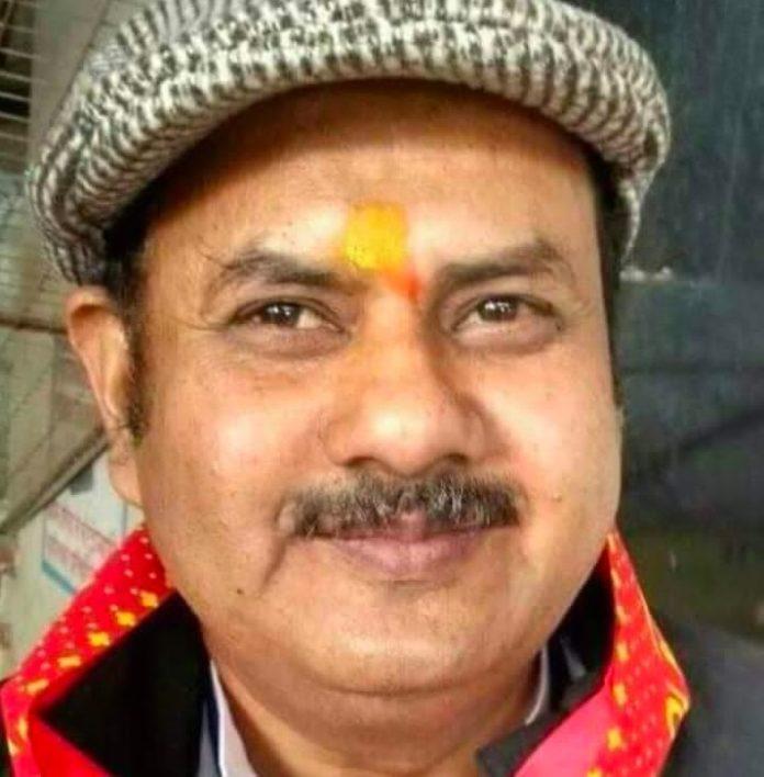 Dainik Rashtra-Sammat, editor Ghanshyam S. Baghi, arrested, fraud
